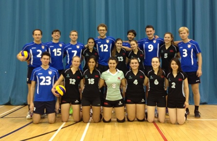 Volleyball student cup whole team