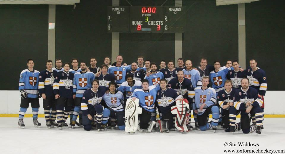 CUIHC Blues and their Oxford counterparts [Stu Widdows]