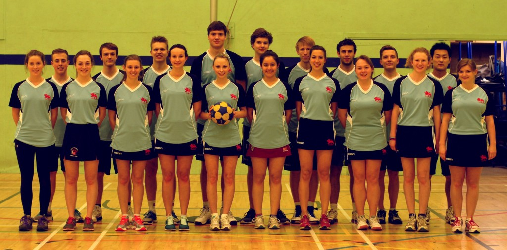 korfball 1st and 2nd squads
