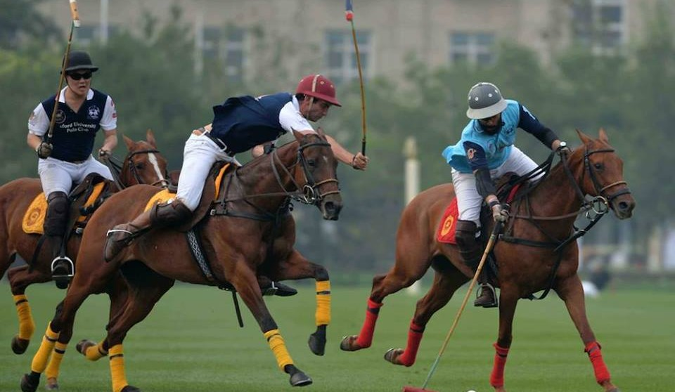 Fast-paced polo