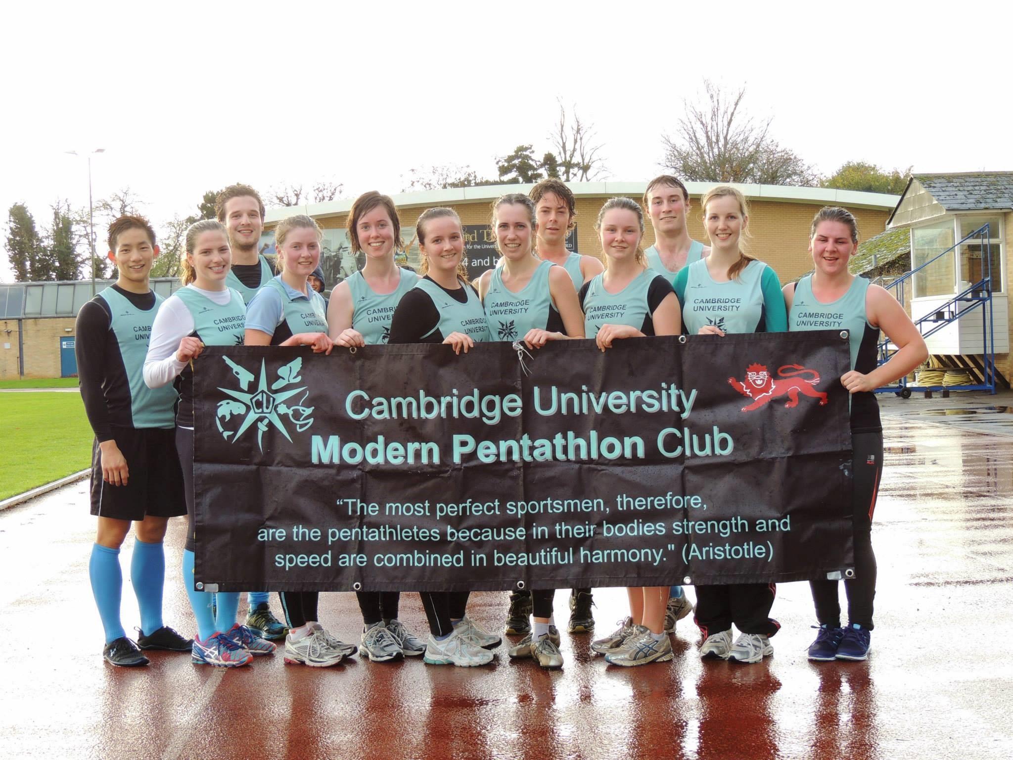 The Cambridge teams at Novice Varsity 2014 held in Oxford.