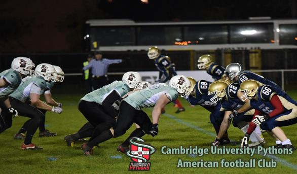 The Cambridge defence takes on Oxford at Grange Road PHOTO CREDIT: Chris Moore
