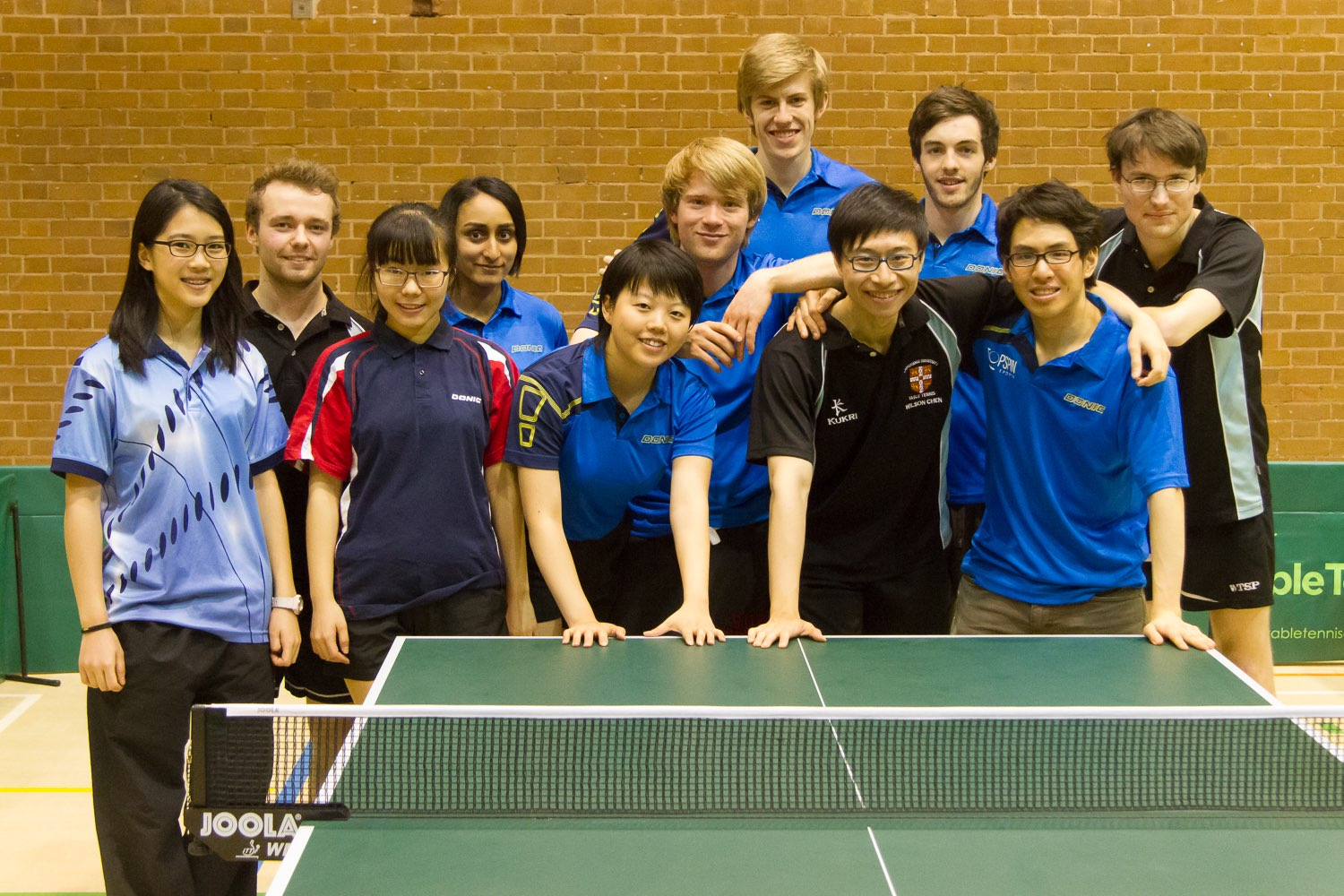 Some of our team members at the BUCS Individual Championships
