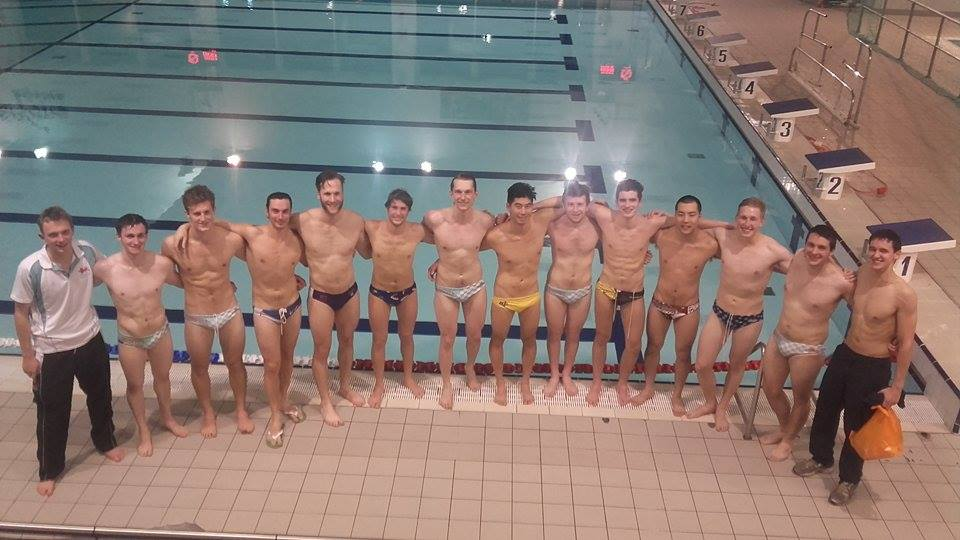 (From left) Tom Bennett (coach), Will Grant, James Moore, Nicola Pellicciotta, Ryan Ripamonti, Alessio Caciagli, Jacob Brown, Joseph Wu, Ben Walker, Robert Gourley, Ryosuke Yamada, Kaspar Petkevicius, Arthur Zielinski, Matthew Walton