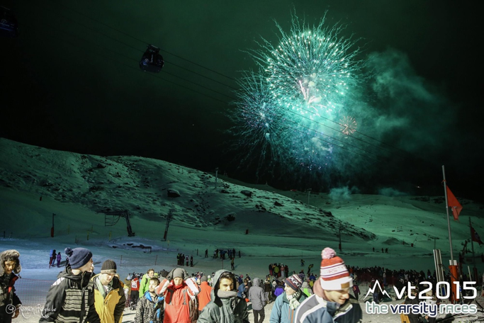 Fireworks provided a spectacular finale to another year of fantastic ski racing
