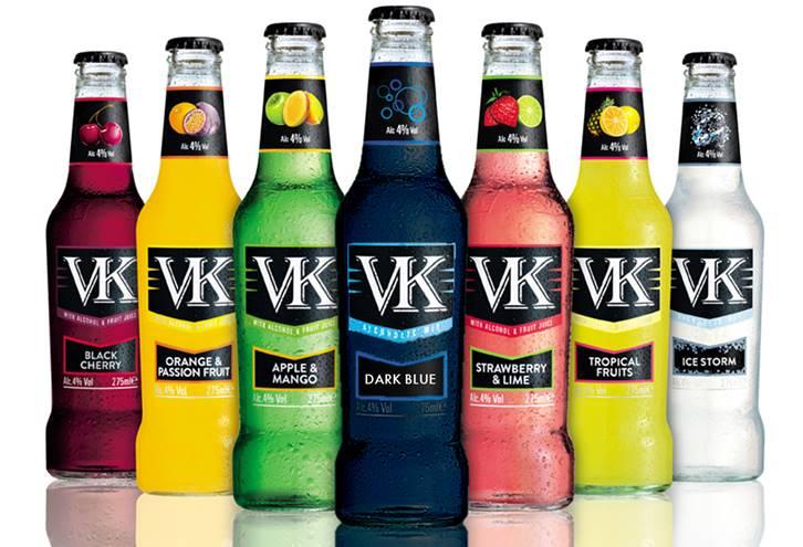VK bottles