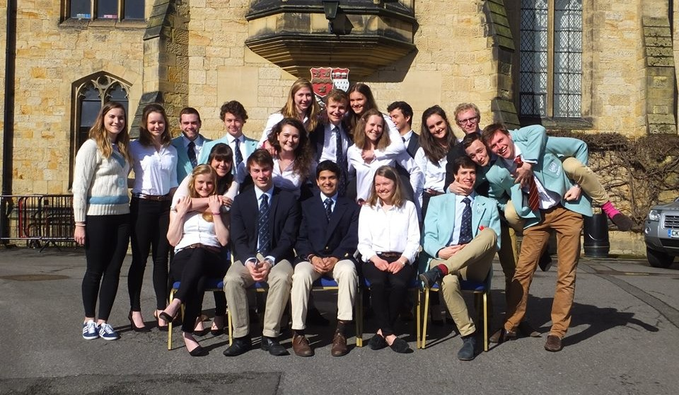 The full Cambridge team