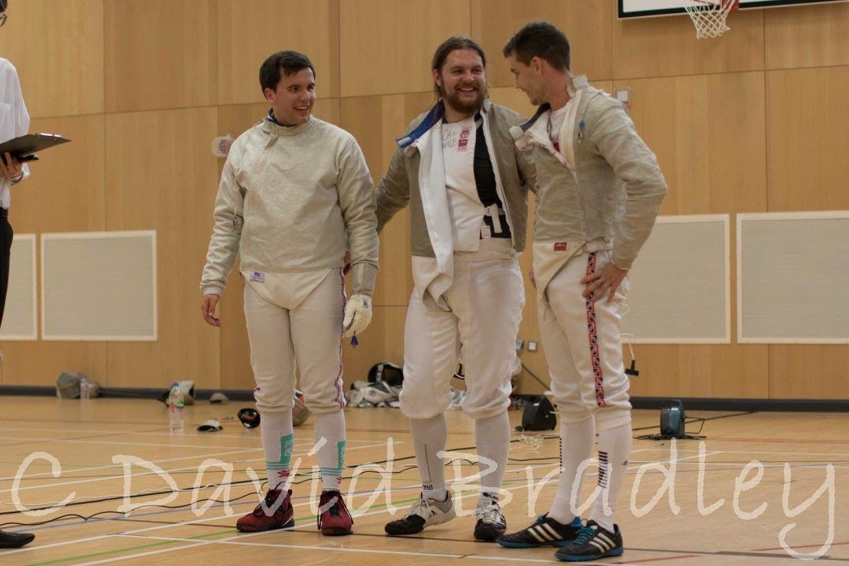 England Men's Sabre Took Gold