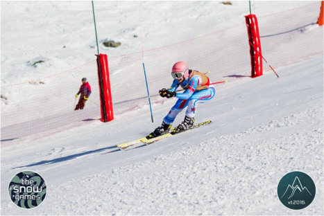 Benedetta Pacella Speeds Down the Slopes