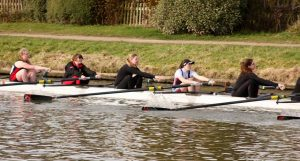 Both Jesus M2 and W2 delivered solid performances. Credit: Newnham College Boat Club