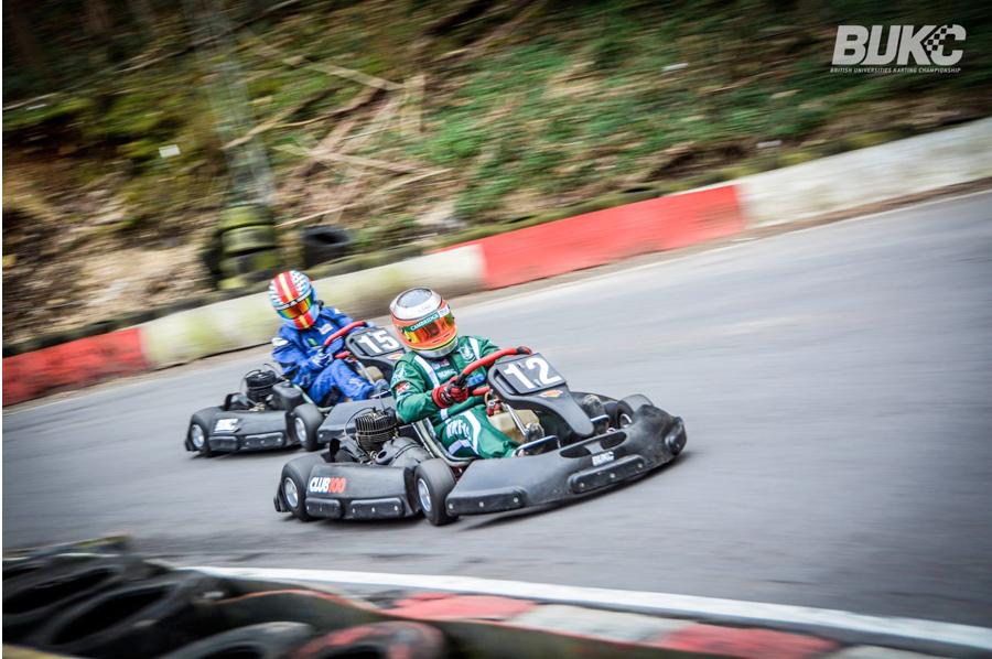 Richard Morris making his way around the track (Credit: BUKC).