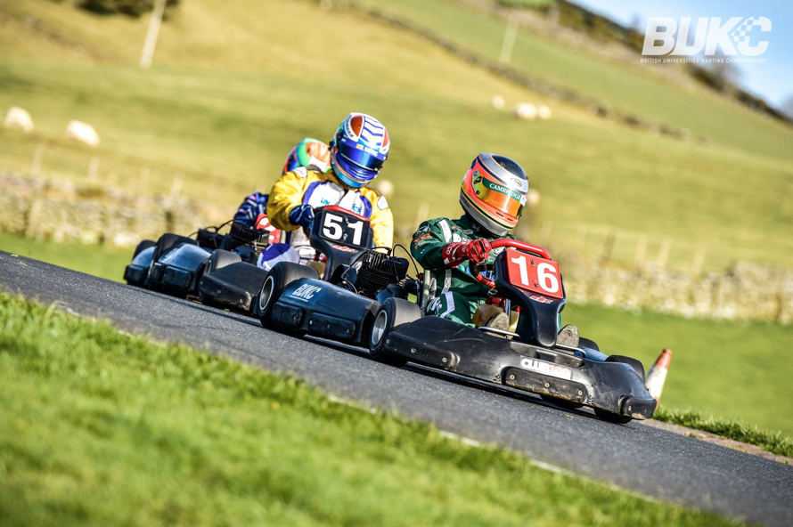 Serene Welsh countryside belied the drama of the afternoon endurance races. (Credit: BUKC)