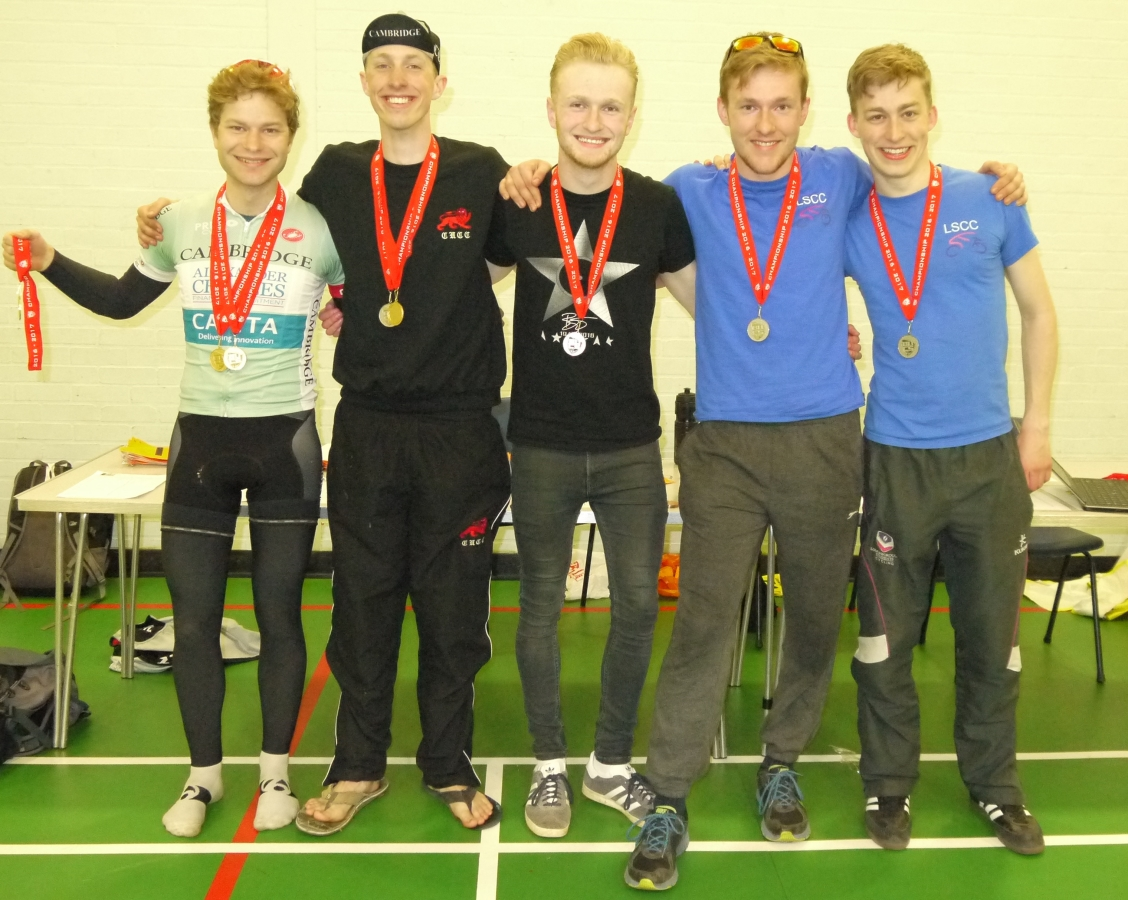 Overall Prize: Gold- Cambridge A, Silver, Loughborough A, Bronze- Derby (absent)