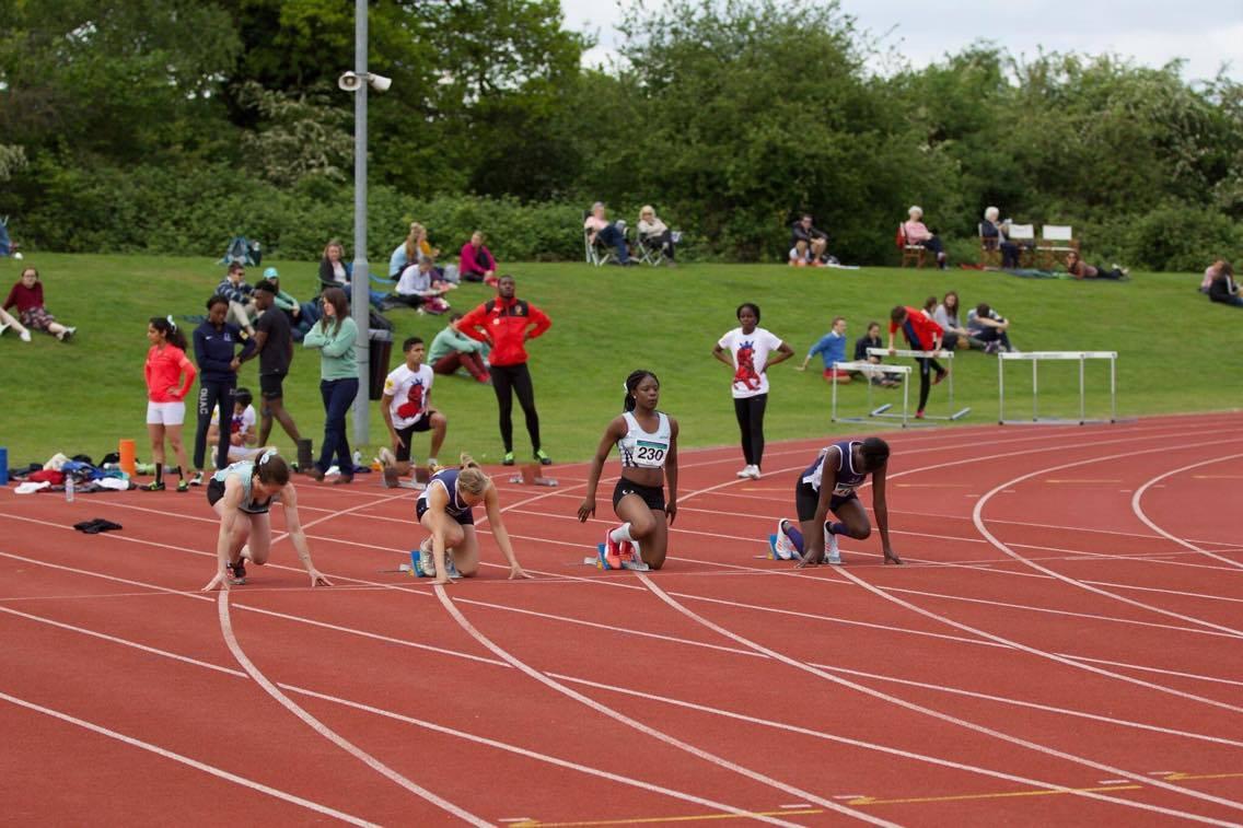 Tiwa Adebayo at Athletics Varsity 2017