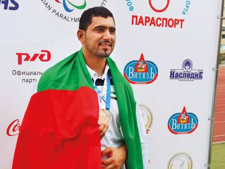 Abdullah Hayayei died in a training accident just before the start of the Championships