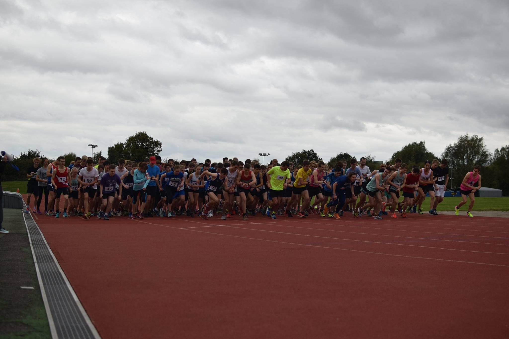 Start of the 2017 Freshers' Fun Run (Credit: James Meiklejohn)