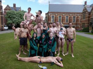 The university team doesn't even have stash in the form of robes- how does a college?!