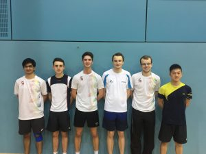 A storming success for the Badminton boys! (Credit: Tom Wade)