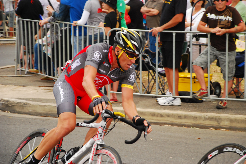 Lance Armstrong's doping disgrace still looms large over cycling (Credit: Wayne England)