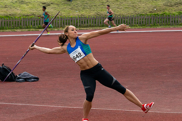 Jessica Ennis-Hill is just one of the many female athletes to face sexualisation in the media (Credit: AdamKR)