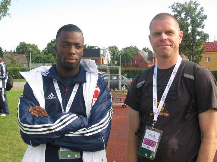 Duberley (right) has enjoyed high-profile success with multiple athletes