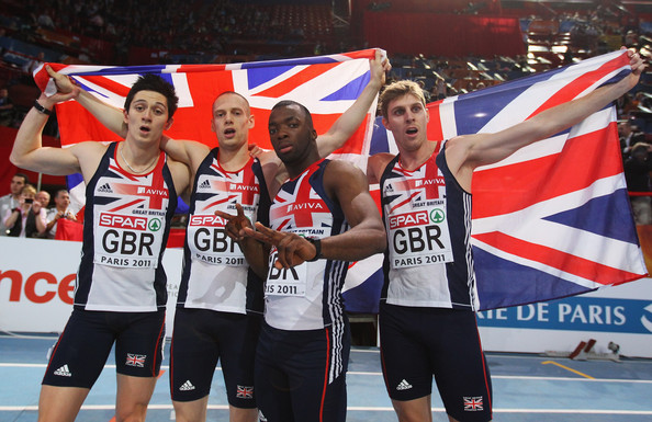 Leavey (far left) is one of Duberley's many success stories. Source: Stu Forster/Getty Images Europe