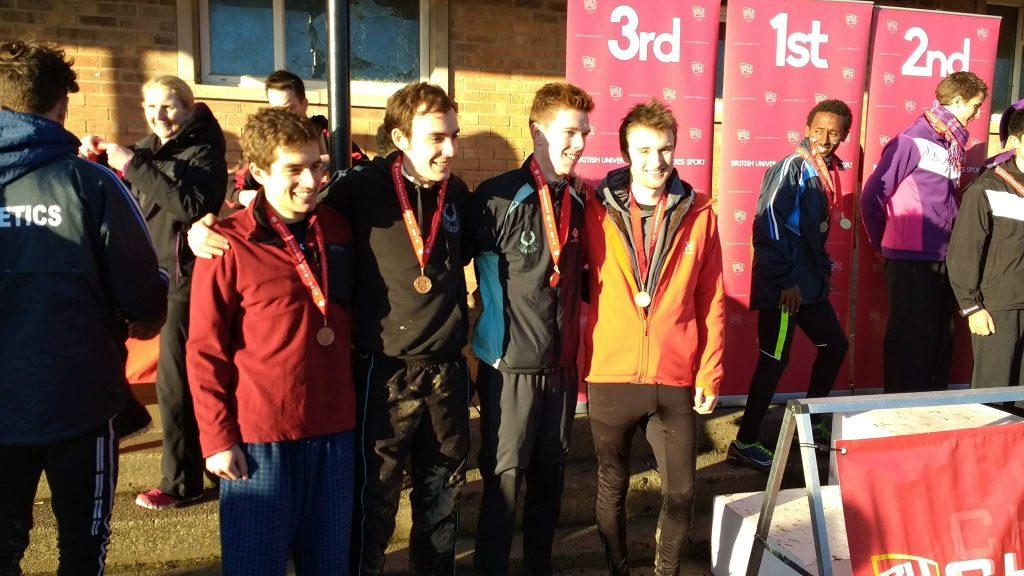 Cambridge's 2017 BUCS-medal-winning men's team