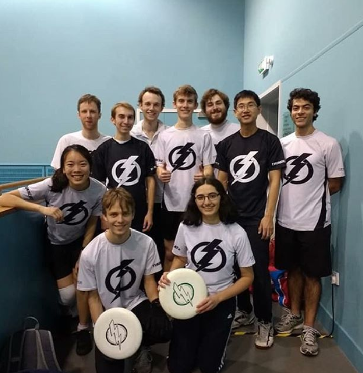 The New Thundercatz also competed. The team represents eight Cambridge Colleges!