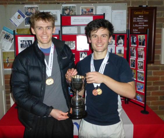 Ed Kay and Matt Shaw of Cambridge (British University Doubles Champions) Photo Credit: Bob Dolby